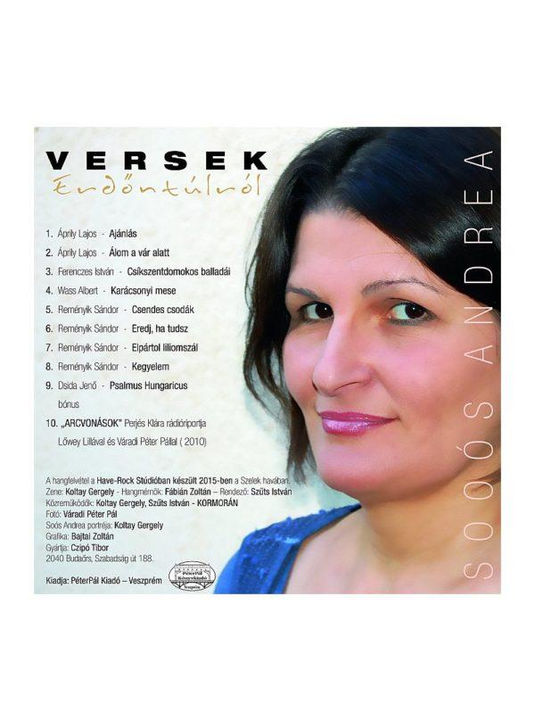 Kedvenc verseink Erdőntúlról – CD