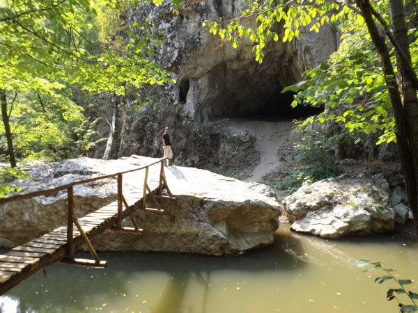 A Főbarlang bejárata- ma Orbán Balázs-barlang