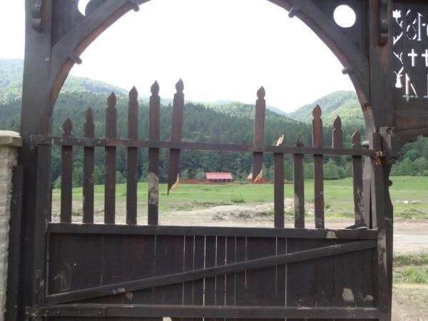 Úz-völgyi székely kapu