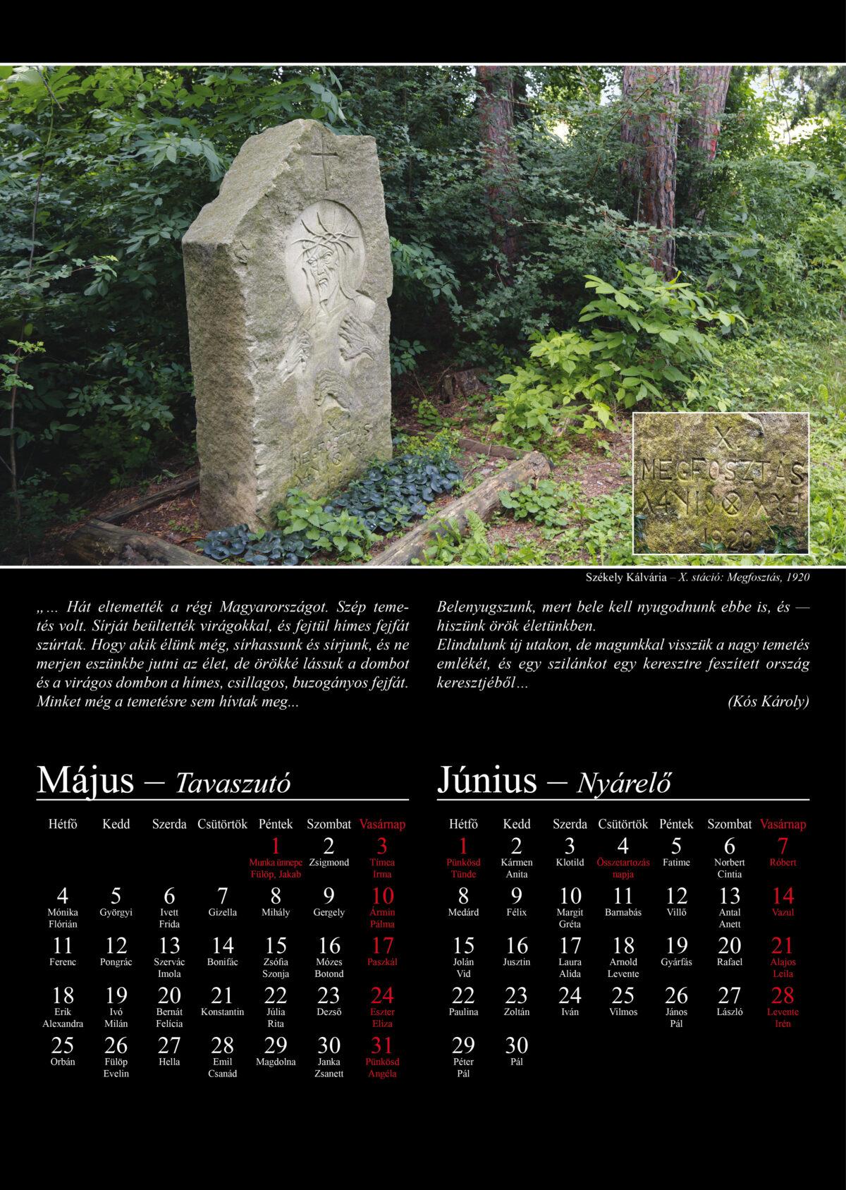 Trianon – 100 év árnyékban – Emléklapok – 2020
