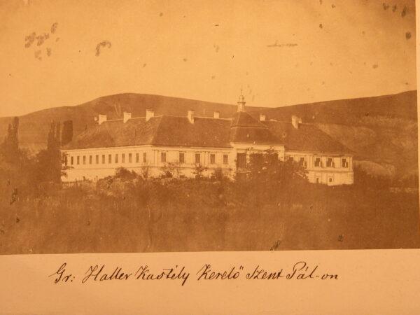 A Haller-kastély, Kerelőszentpál, 1960-as évek eleje
