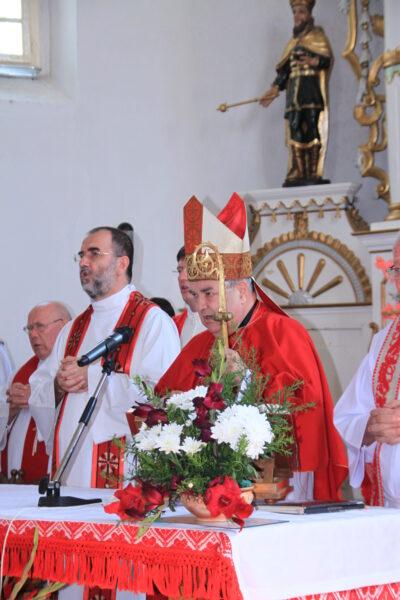 Márton Áron-emlékére celebrált szentmise, Csíkszentdomokos