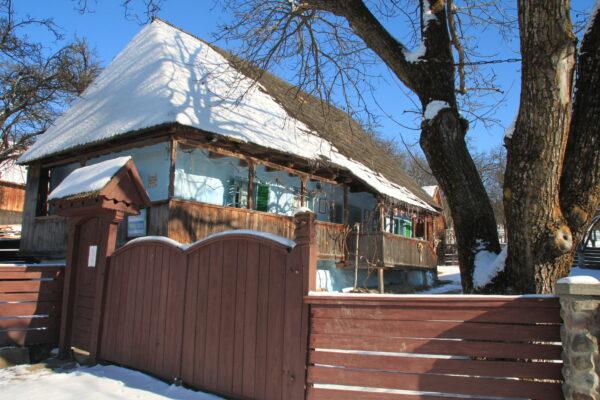 Tamási Áron szülőháza Farkaslakán