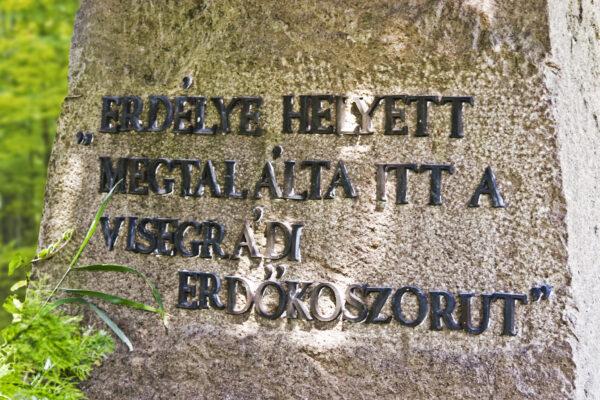 Áprily síremlékének felirata