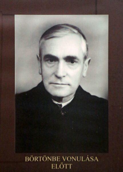 A csíkszentdomokosi Márton Áron Múzeumban elhelyezett fotó