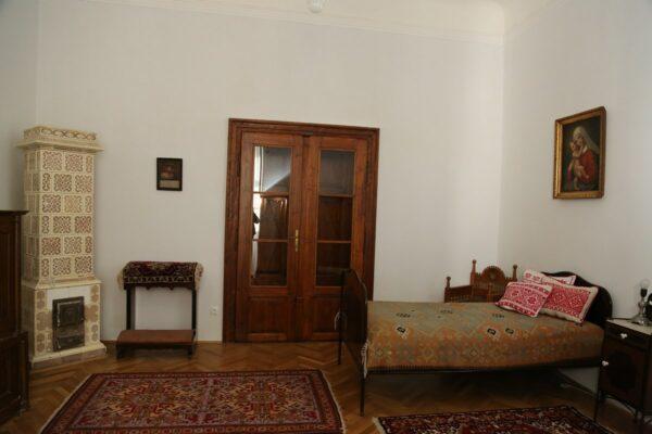 Márton Áron szobája, itt hunyt el a püspök