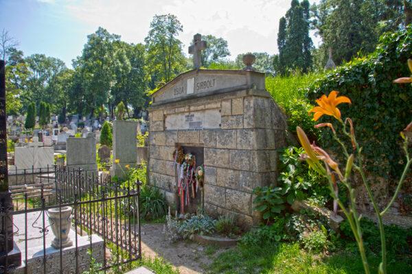Dsida Jenő síremléke a Házsongárdi temetőben