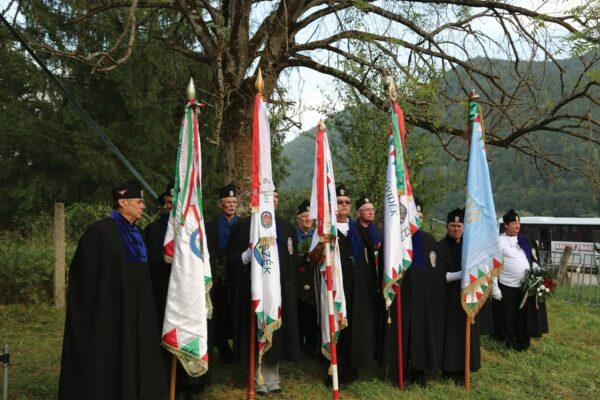 2019 augusztusának megemlékező ünnepsége a katonatemetőben