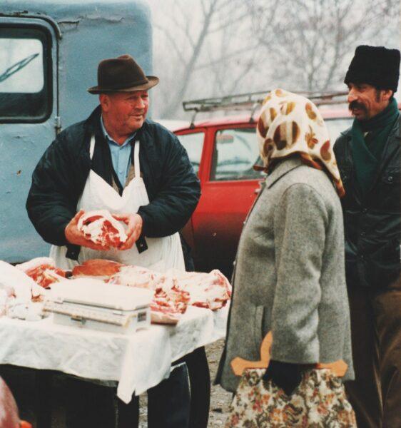 Rögtönzött húspiac