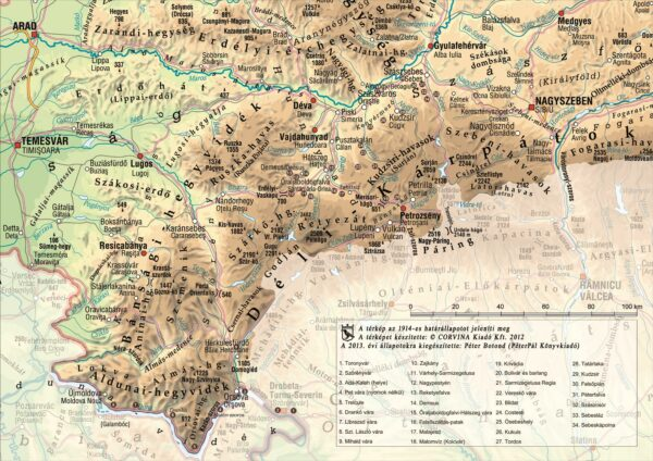 A Déli-Kárpátok Orsovától a Transalpinig