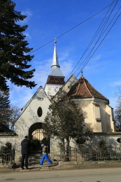 Barcaújfalu evangélikus temploma