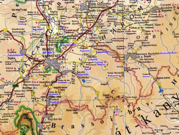Tatrang, Zajzon, Pürkerec - a Háromfalusiak vidéke