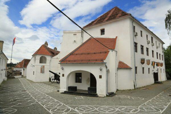 A Fellegvár egyik felújított része