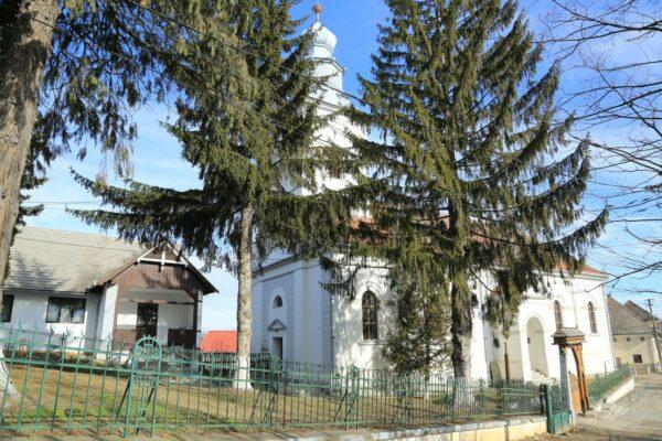 Krizba evangélikus temploma
