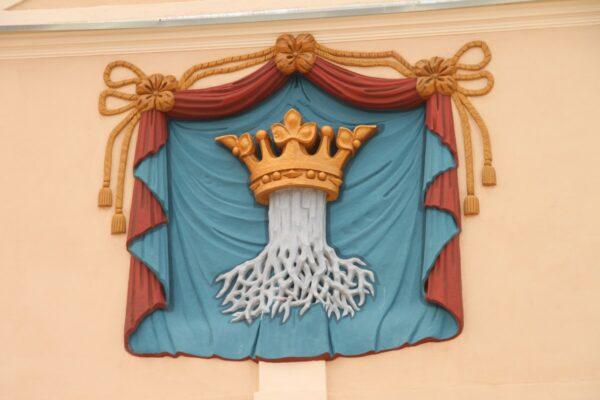 Brassó város címere, melynek szép, legendába illő története van