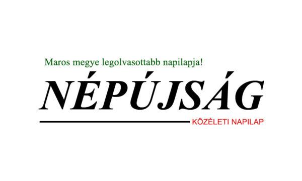 Népújság - Maros megye legolvasottabb napilapja