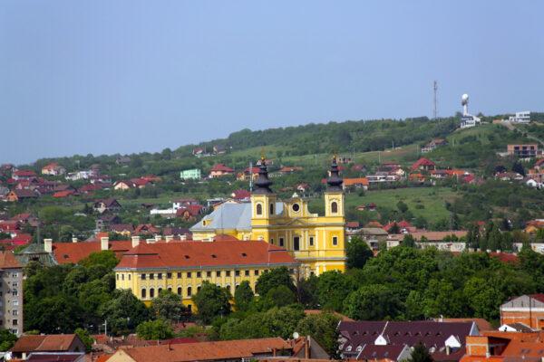 1759-ben az újonnan kinevezett Patachich püspök egy új püspöki palota építéséről döntött, ami késleltette a bazilika építését.