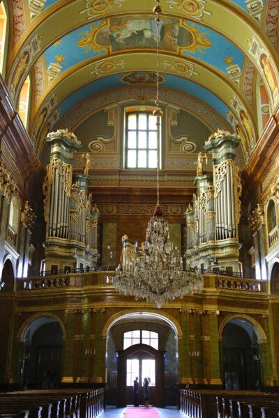 Az eredeti orgonát 1782-ben építették, majd folyamatosan módosították.