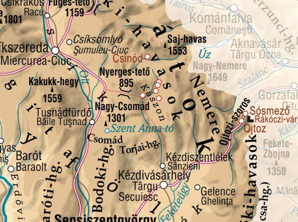 A Kászonok vidéke a Keleti-Kárpátokban