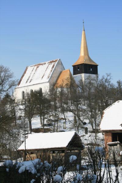 A nyárádszentlászlói Árpád-kori unitárius templom