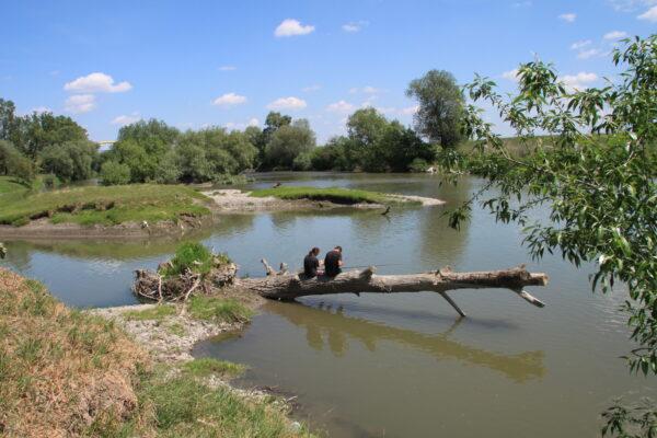 A két folyó találkozásánál