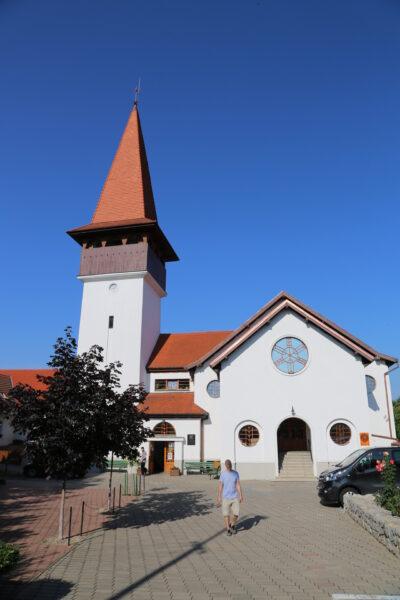 A réti református templom