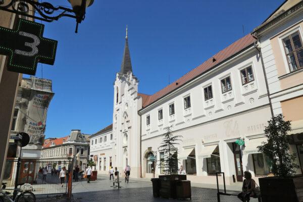 A Szent Anna templom és az egykori Orsolya rendház